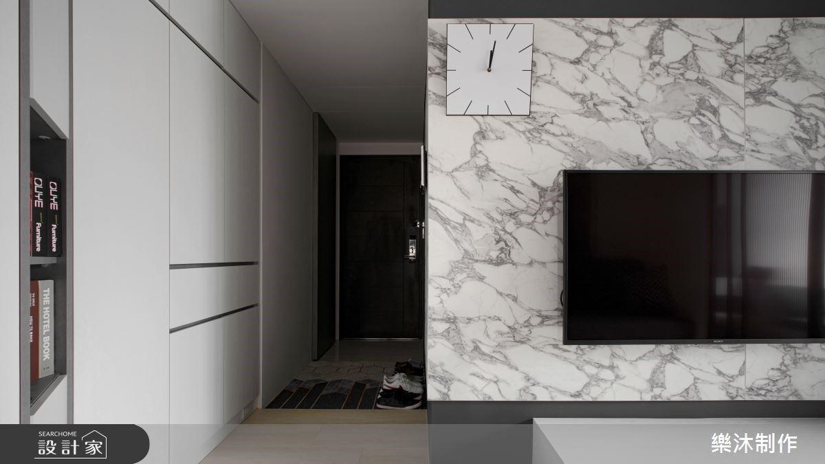 改善陰暗採光、開門見灶,現代風小坪數也能有2房和充裕收納機能