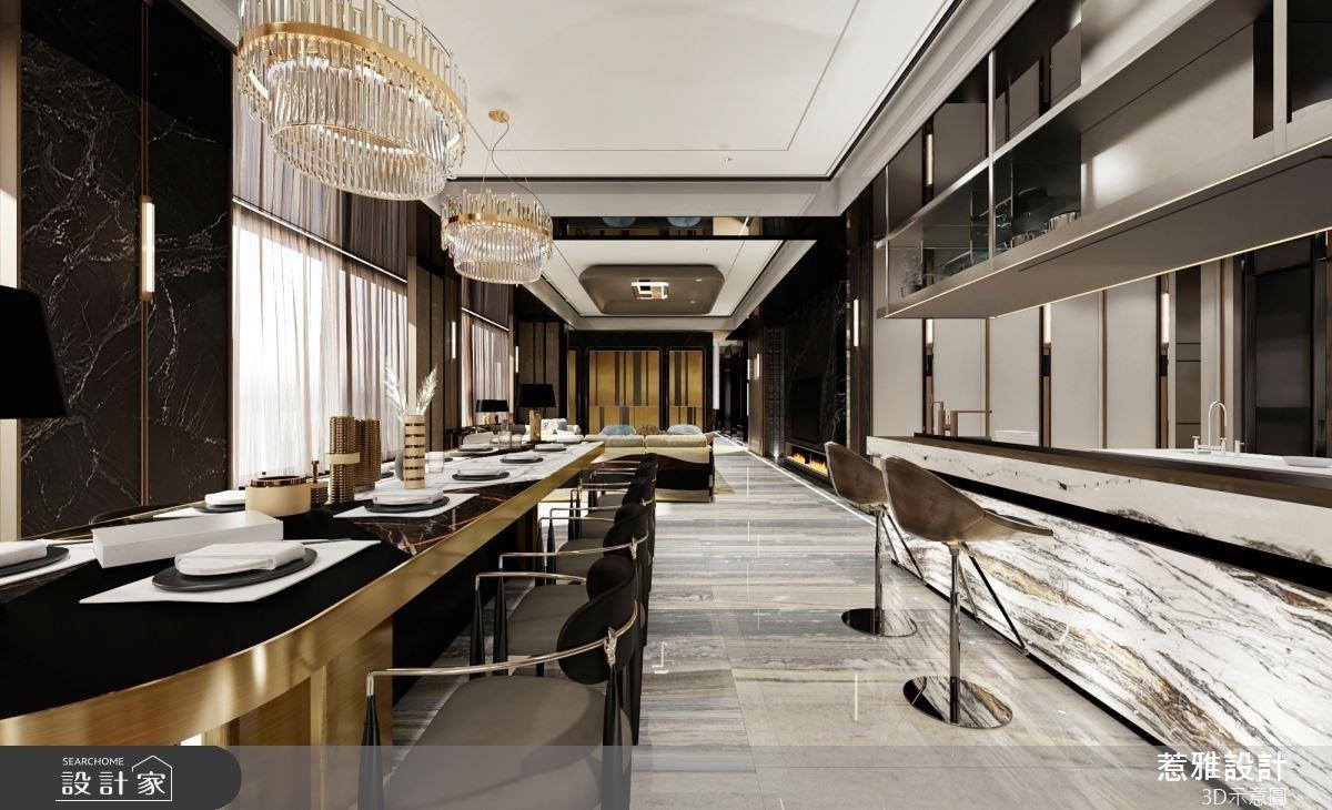 高格調從玄關開始!歐美系奢華餐廳、愛馬仕風格主臥,無一處不是優雅風景