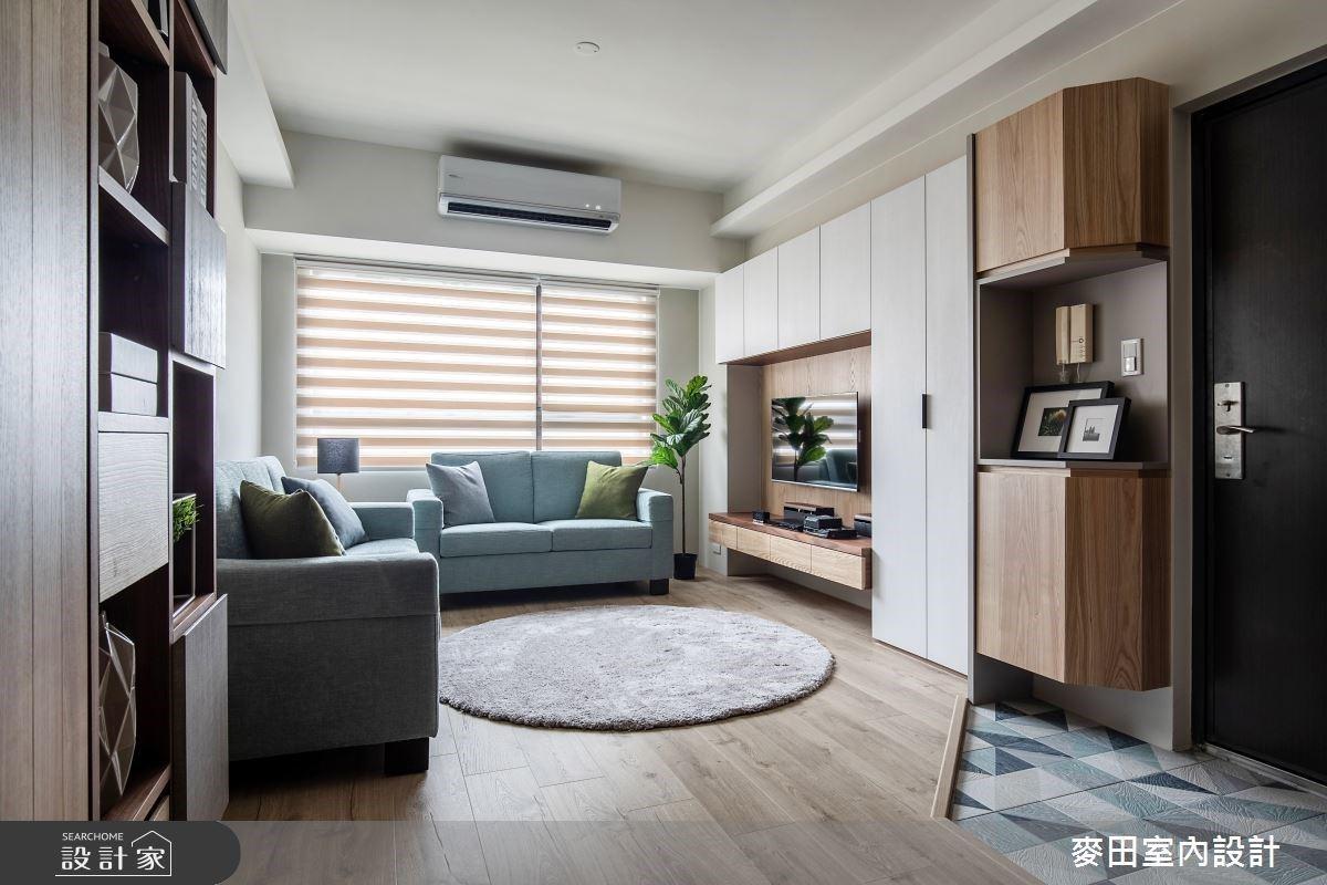 重整一家四口的生活樣貌!打造兼具舒適與機能的21.5坪木質調混搭宅