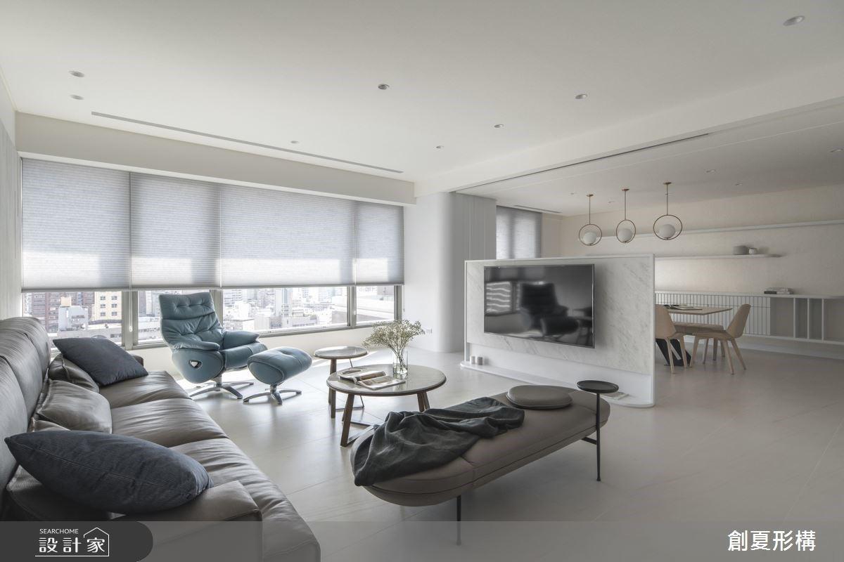 毛胚屋美得令人驚豔! 唯美白淨系、高樓Skyview,這是我想要的家!