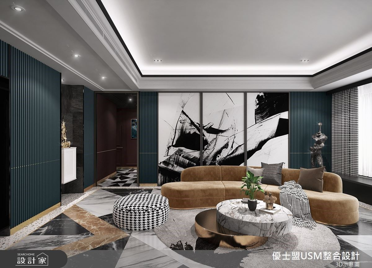 完美演繹精品美學質感,打造奢華風時尚豪宅