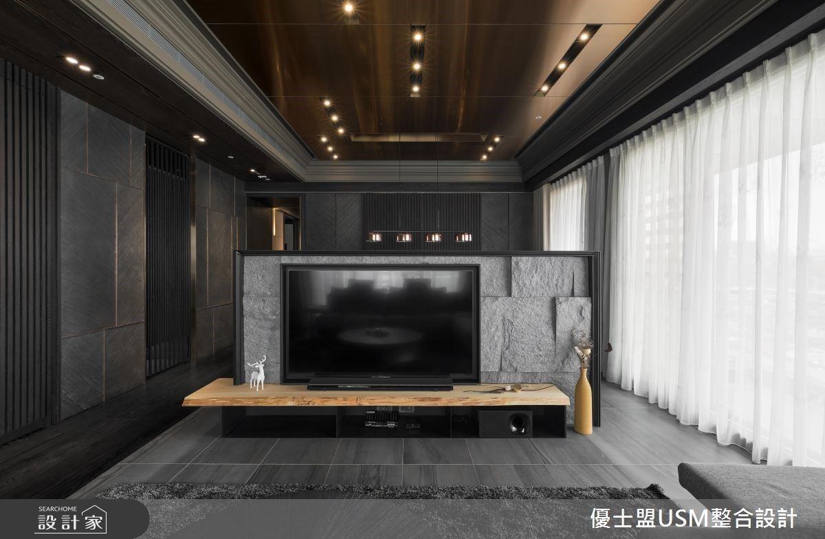 大面窗光走入50坪日式禪風宅,建材、色彩妝點精緻飯店感的空間表情