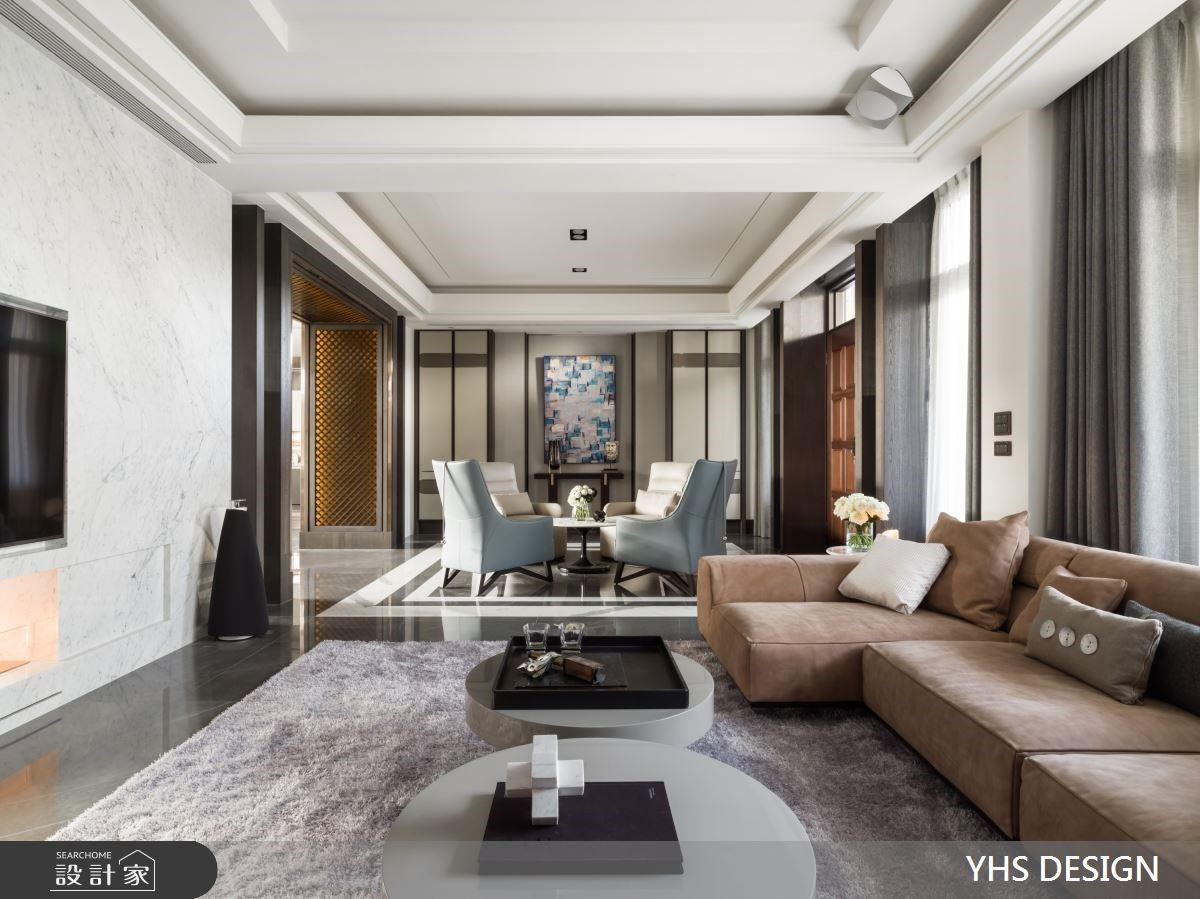自地自建英式透天別墅!對稱美學打造雙客廳、酒櫃中島,訂製理想新古典精品豪宅生活
