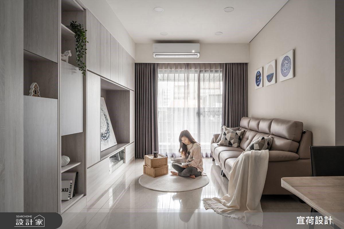海量收納、專屬書房、低甲醛! 40 坪簡約風機能宅,住得健康又溫馨!