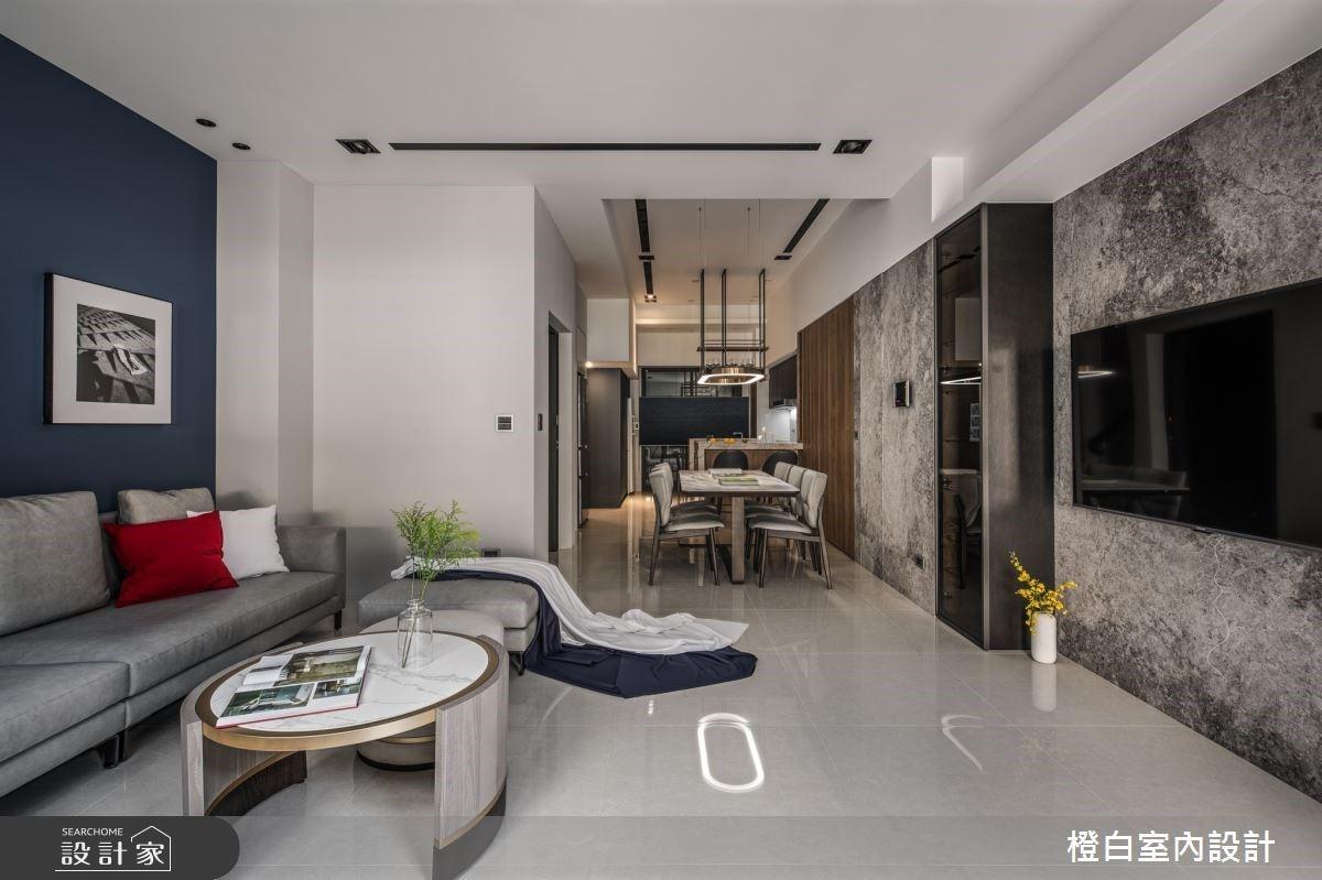 入住95坪混搭風透天別墅,以色彩、材質創造空間的多種氛圍!