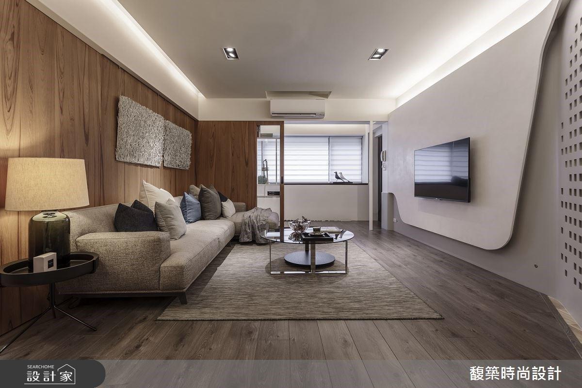 最懂你的退休生活設計師,打造融入生活美感的35坪現代宅!