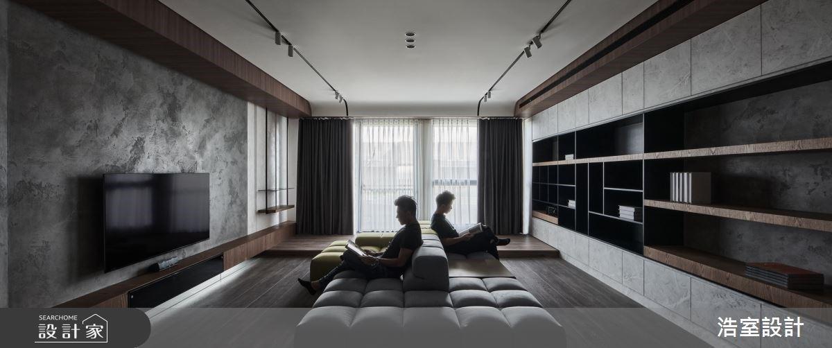 天然純粹的低彩度視角!40坪大器現代風,讓三代同堂住得舒適又自在