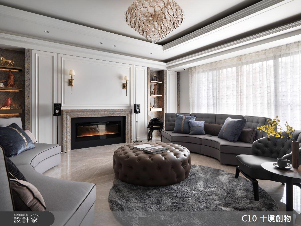 和家人共享藝術和生活! 120 坪新古典宅邸,完美融植東西方雋永迷人品味