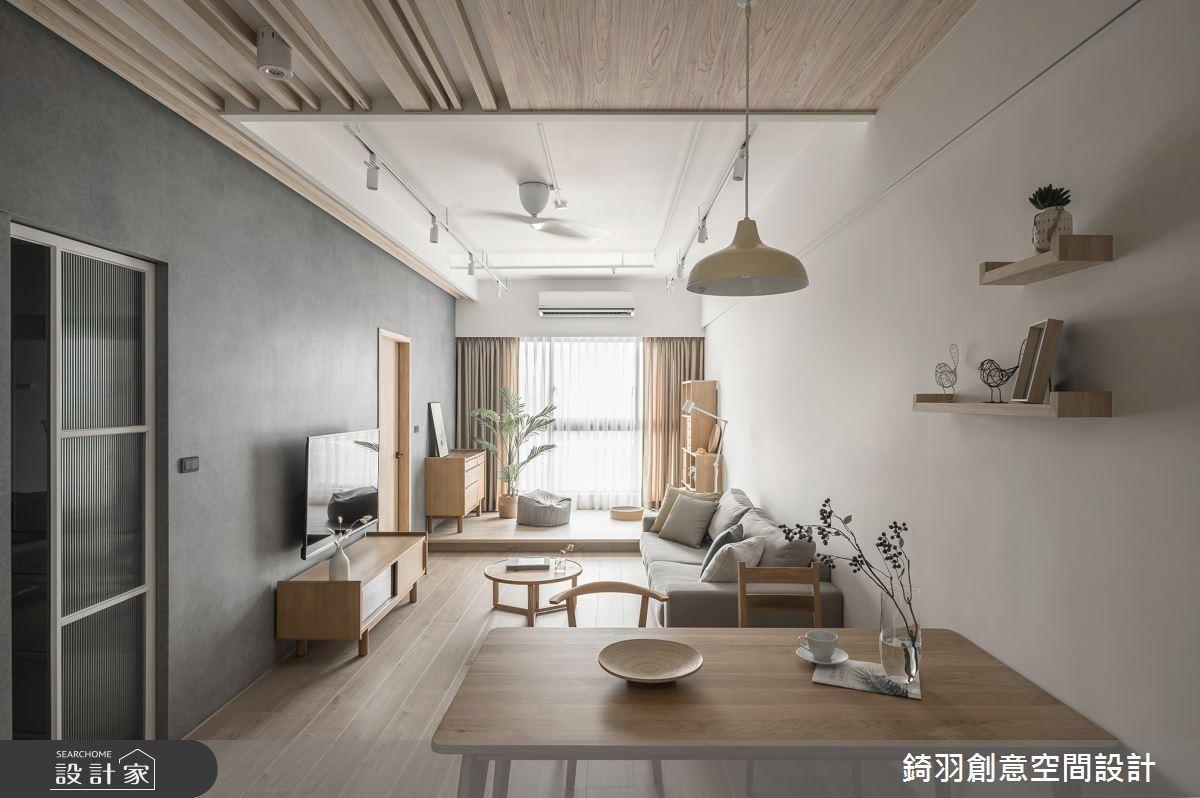 無印風單身宅,錯過會對不起自己!20 坪也能擁有超大臥榻區、日系玄關