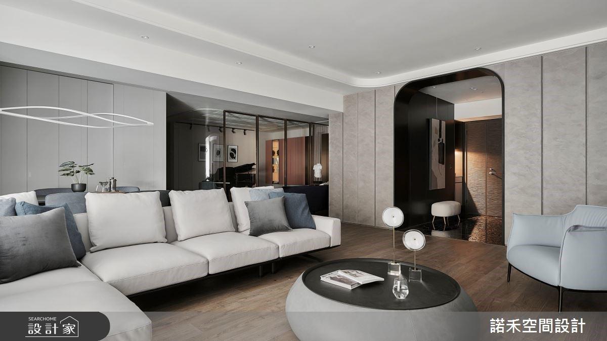 步入琴音漫溢的文藝居所,翻轉採光劣勢成就一敞亮舒適的現代宅