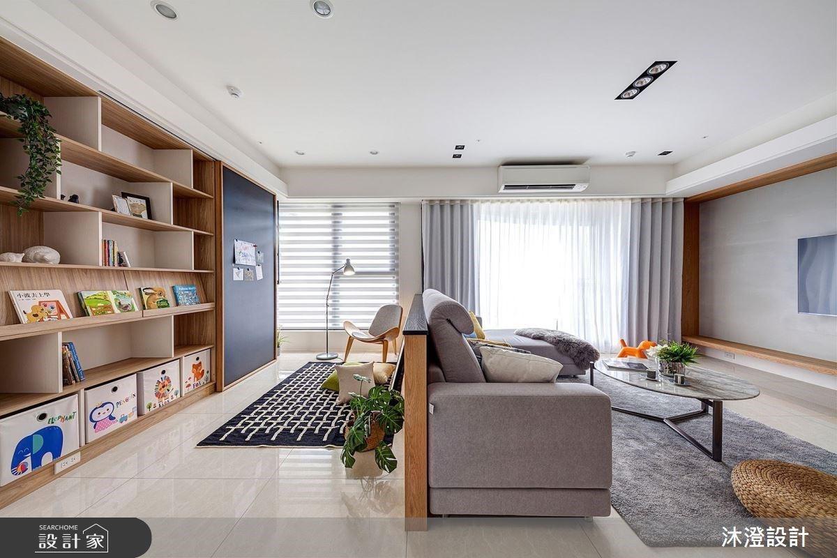 好感度超高的清新北歐風!陽光、木質與純白創造天然無壓的親子宅