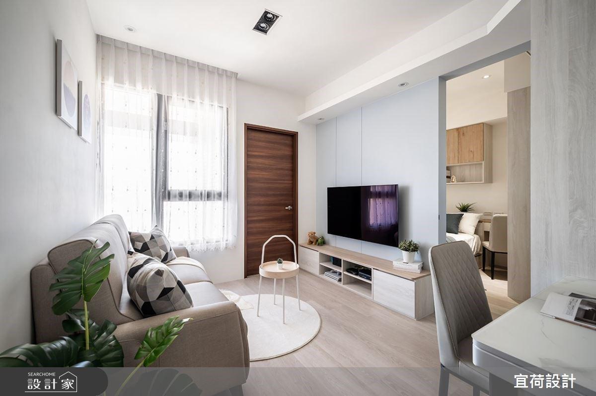 小坪數居宅的嶄新解法!14坪也能擁有2房1廳、大量收納