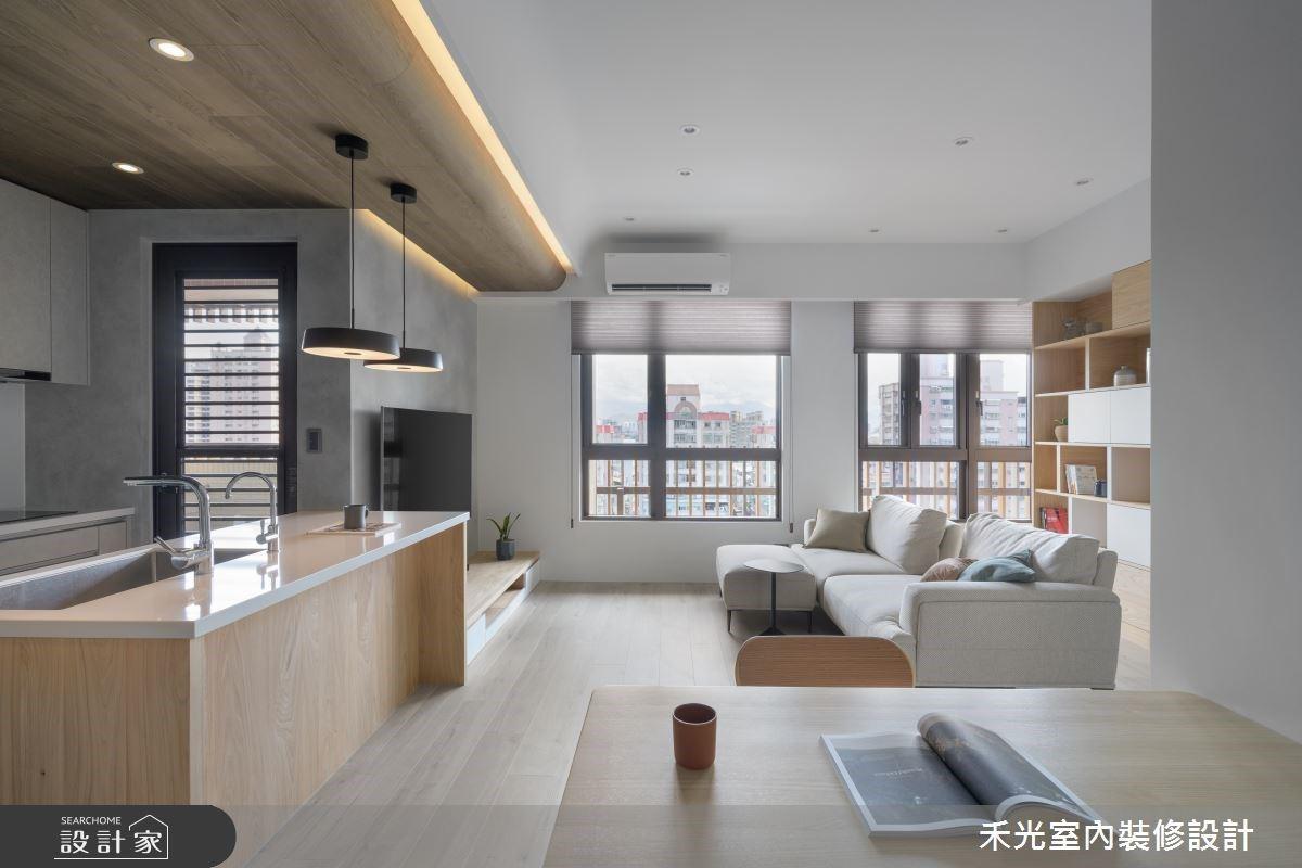 小宅也能擁有開闊感!木質中島美廚與美型收納,創造機能滿點的舒適生活