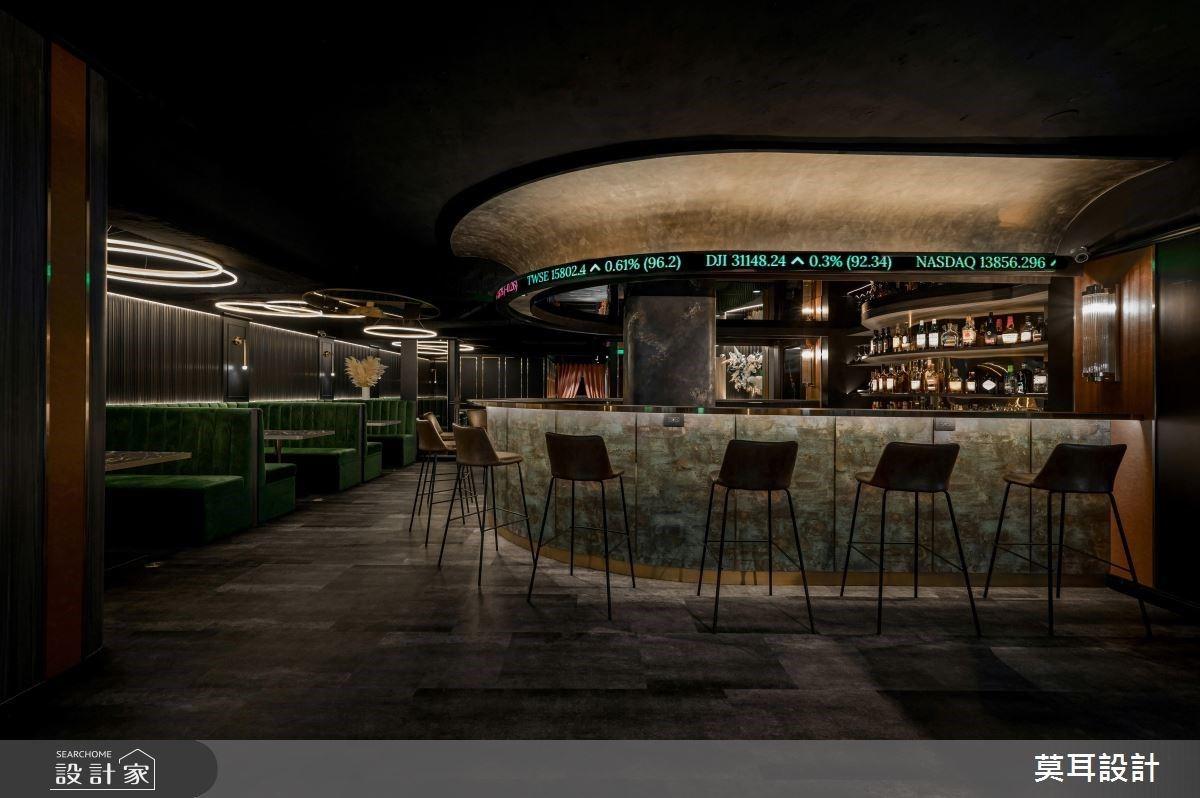 交織英式古典與現代奢華的55坪金融餐酒館,走入異國情調的愜意氛圍