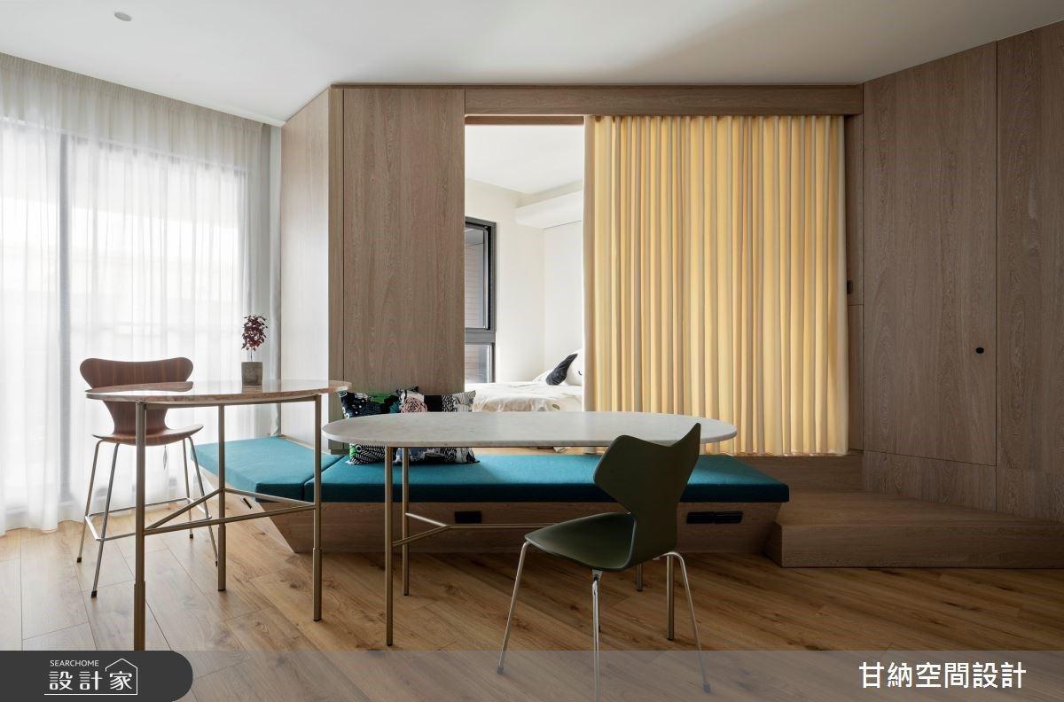 小宅當道,讓空間超越空間,是臥室的牆也是餐廳的椅