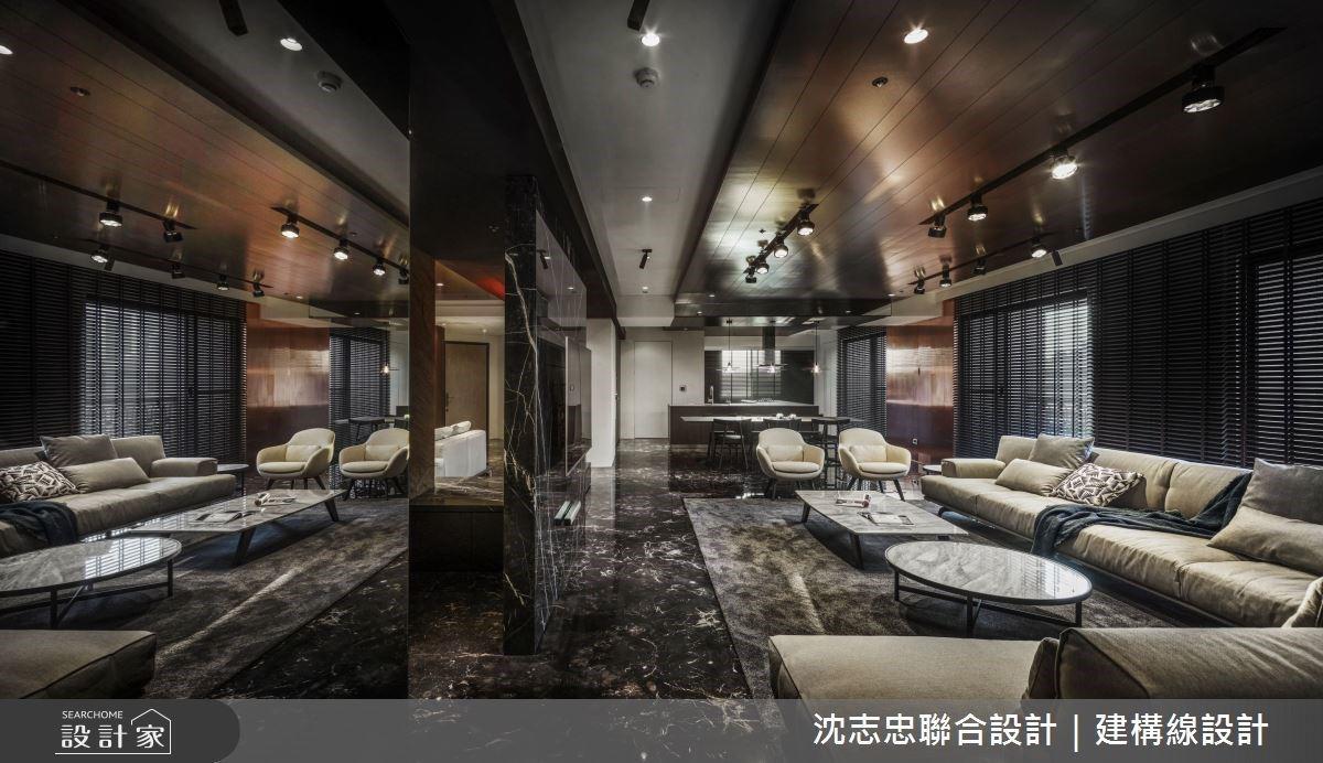 回到私人 Lounge Bar 細品高質量生活!現代風豪宅重現國外故鄉的寬鬆感