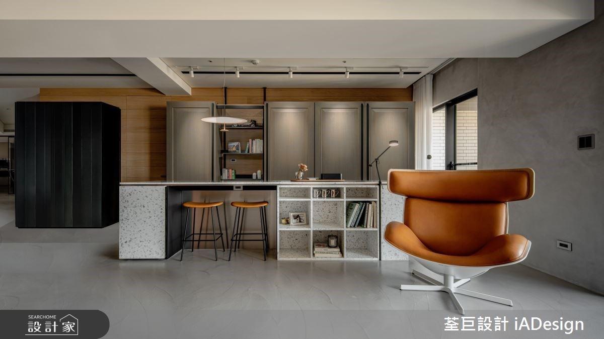 細緻工藝賦予豪宅生活溫度與質感,從中島閱讀區、整合型收納、優雅家具體現完美生活