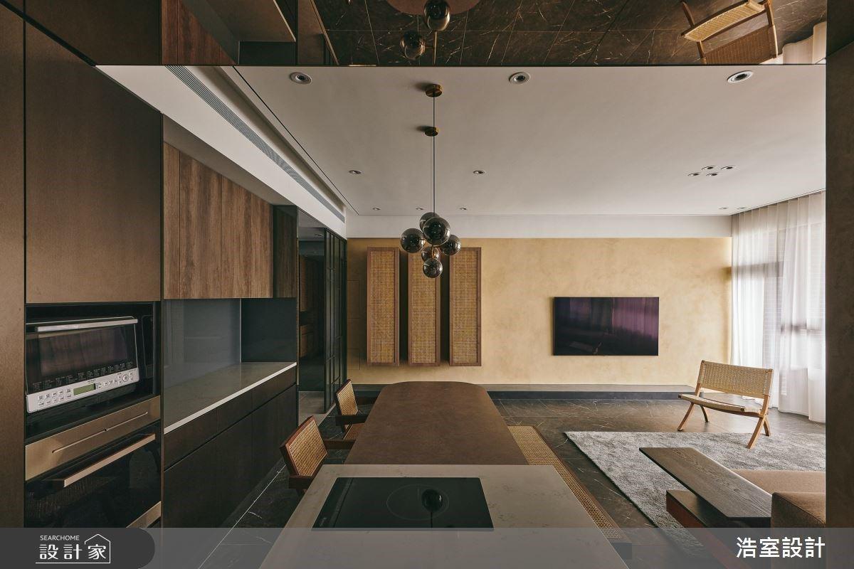 大地色系、藤編元素、環保木皮,沉澱歲月的優雅新東方品味宅
