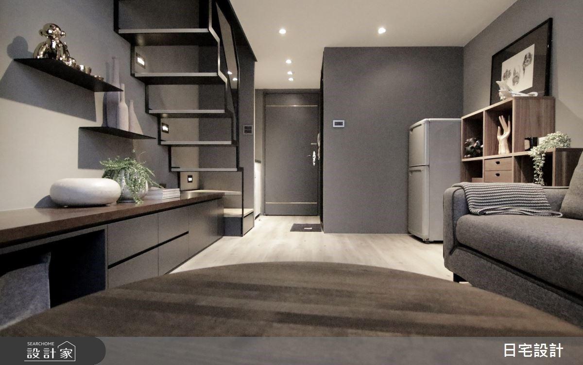 6 坪中古屋大改造!廚房位移增添收納量,夾層不做滿採光更佳