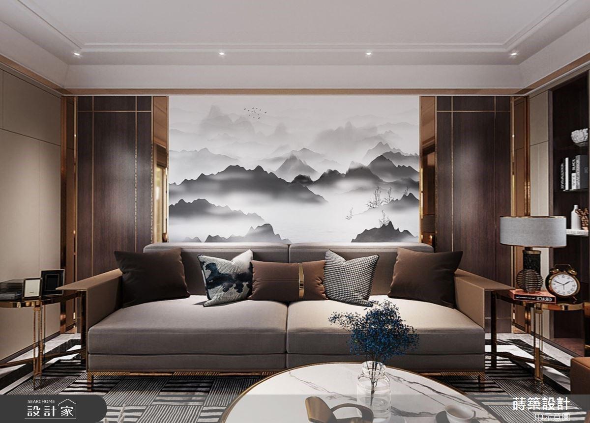 奢華大器的現代風休閒豪邸!讓生活縈繞於高質感的美學品味