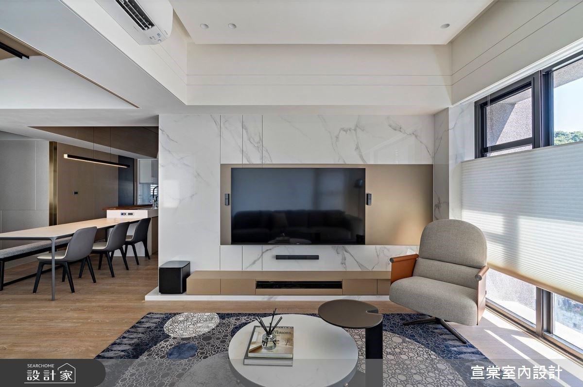 屬於三個世代的避風港,溫柔堅強兼具的簡約現代宅
