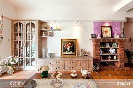 用復古磚輕鬆打造南歐鄉村手感客廳