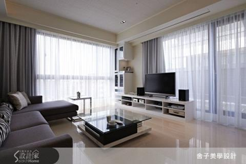 怎麼看都超放鬆的高採光絕美客廳