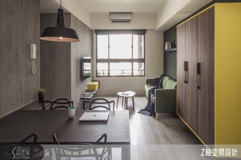 不到百萬!15坪的小空間放大術讓家的格局更靈活