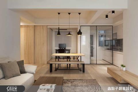居家穿透感就靠它!  8 種時尚、美感兼具的玻璃屏隔設計
