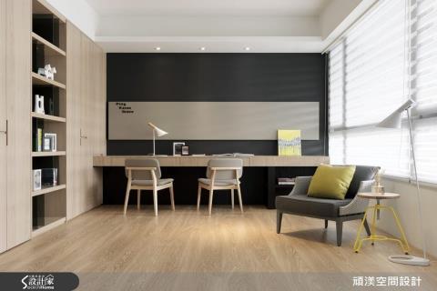 書牆是家中最美的風景!8款文青最愛的療癒北歐風書房設計