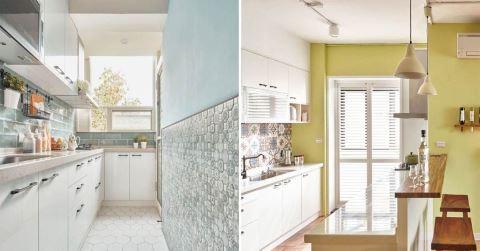 廚房竟然可以美成這樣?有貼小花磚,就是不一樣!7 個打造花磚廚房的小秘技!