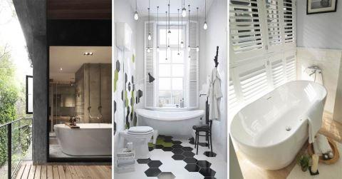 「獨立浴缸v.s石砌浴缸」該選哪個好?15個屋主家都選擇「獨立浴缸」的七大理由~