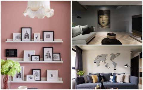 8 種牆面設計,讓你家的小角落媲美 IG 網紅打卡牆 !
