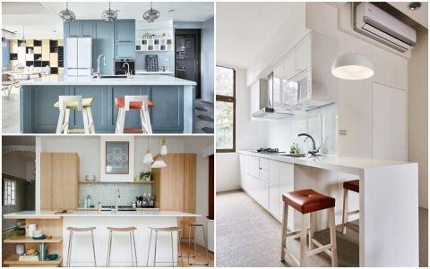 好清爽! 10 款清新餐廚空間,教你用色彩學擊退廚房裡的躁熱感!