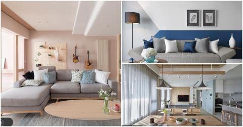 客廳色彩搭配! 8大色系、30組客廳油漆色彩實例,擺脫選色障礙!
