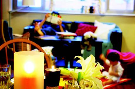 大客廳為親子關係加溫 清松與葉子媽的親子樂活家(下)