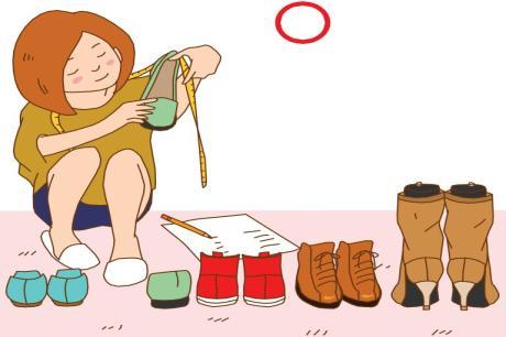 鞋櫃收不進較高的靴子!