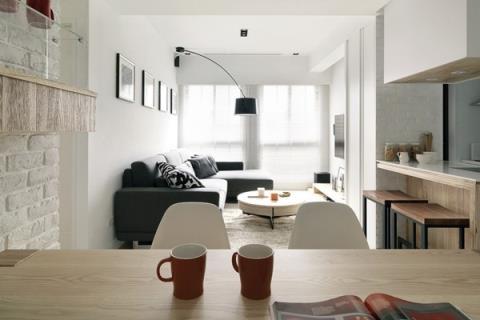 身心靈完全紓壓~25個北歐風居家空間設計(上)
