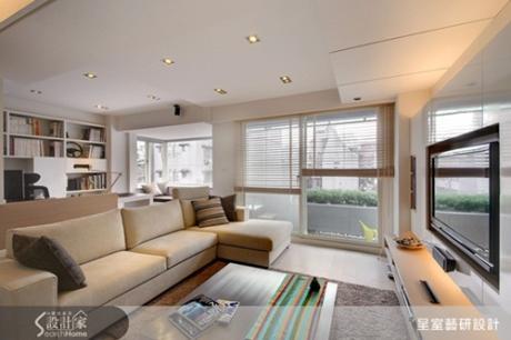 白淨透亮的22坪機能小宅