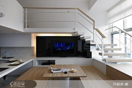 挑高房型作出紐約LOFT風格都會宅
