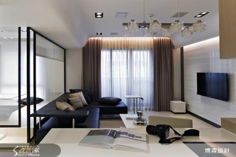 善用隱蔽玻璃 讓和室彈性運用