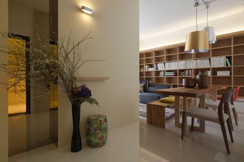 打造書香滿室的木空間居家