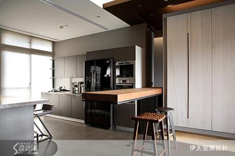 45坪只有1房?挑戰超開放式空間設計