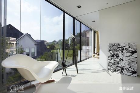 日光與藝術共構完美現代居家