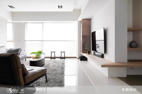 簡單俐落空間,中性設計好耐看!