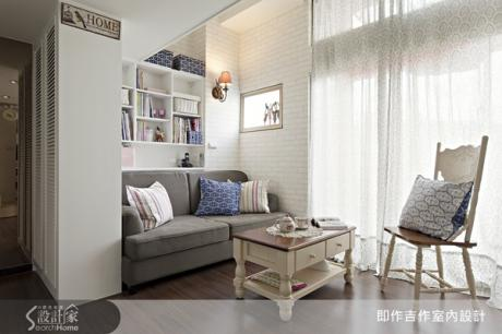夢幻柔美的白色北歐鄉村部屋