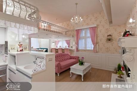 粉紅色洋娃娃部屋!日式雜貨+法式鄉村混合精緻小豪宅