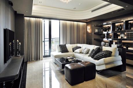 簡約態度定調都會輕奢華美宅