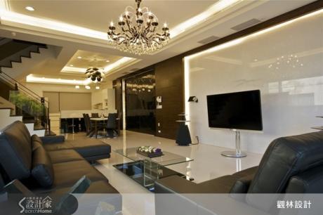 精緻品味與大器質感並存 奢華感透天別墅設計