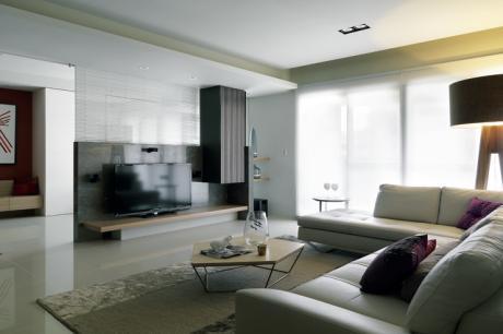 減壓沉靜,不受潮流影響的永恆住宅